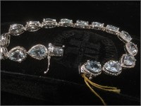 Appraised Sterling Silver bracelet with 15.61
