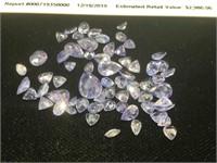 Appraised Parcel of Tanzanite Gemstones - 20.00