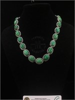 Appraised Sterling Silver necklace with 162.63