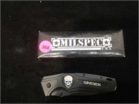 New Wartech assisted opening pocket knife - 3 in