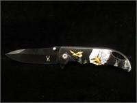 New The Bone Edge assisted opening pocket knife