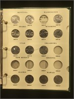 50 State Quarter Collection - almost complete -