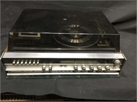 Sears record player/ cassette recorder and AM/FM