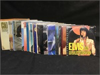 30 vinyl albums from Elvis, Neil Diamond, Boz