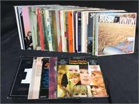 40 album Vinyls, mix country,, Oak Ridge boys,