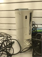 Lot incl. Xbox 360 first gen power on but has red