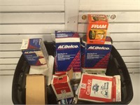 Large lot of Car parts mostly on boxes