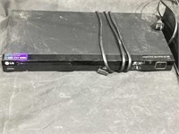 Samsung Blu-Ray disc player w/LG DVD/CD player
