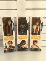 3 NIB Star Wars toys