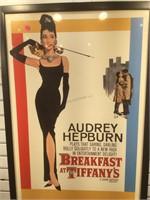 Audrey Hepburn Breakfast at Tiffanys print,