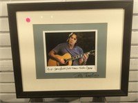 Signed Billy Tompkins photo of  Rick Springfield