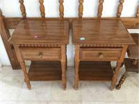 Wooden bedroom set Incl. Headboard, Nightstands