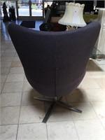 Zuo modern 'La Brea' Rotary chair, approx 42
