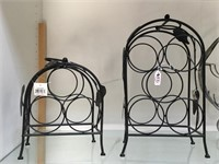 Lot of 3 wine stands