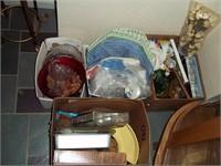 Tractor-Baler-Farm Equip-Tools-Antiques-Glassware-Furniture