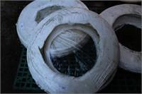 """1/2"""" 300ft aquatex white plastic hose"""