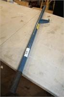 blue barrel cart handle