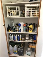 Supplies in Cabinet