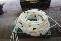 "WHITE HOSE 3/4"" 100 PSI   (SKID NOT INC)"