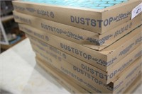 8 DUST STOP FILTERS (16X20X2)