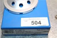 "BOX-1 GRINDIDNG DISC  4""x5/8""/11"