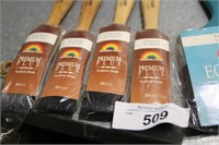 4 x 30mm paint brushes