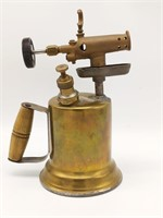 "Antique Brass Blow Torch 11"""