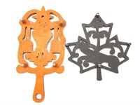 """(2) Trivets 8.25"""" and 5.75"""""""