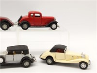 """(5) Yatming Toy Cars 4.5"""""""