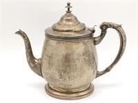 "Metal Teapot 8"""