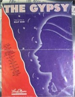 10pc Collectible Sheet Music