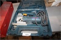 BOSCH ELECTRIC JIG SAW & CASE (RUNS)
