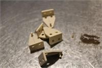 BOX LOT OF MINI BLIND BRACKETS, MIRROR BRACKETS