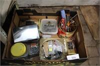 BOX - VARIOUS SCREWS, ETC