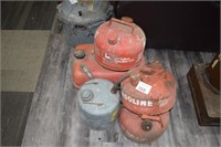 (5) Gas Cans