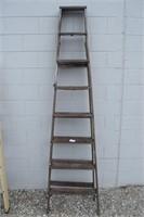 8 Ft. Wooden Step Ladder