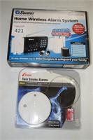 Wireless Alarm & Smoke Alarm