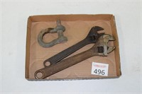 Adjustable Wrenches & Clevis