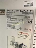True 2dr Sliding Glass Cooler -GDM-41SL-60