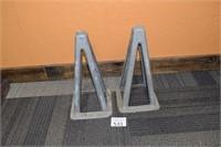 (2) Shop Stands