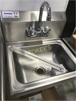 New Stainless Steel Hand Sink With Taps
