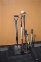 Shovel, Garden Tools, & Tubing Bender