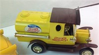 Two diecast vehicles