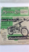 1960 motor cycling with scooter weekly magazine