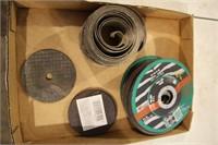 tray-cutting discs etc