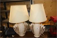pr lamps w/shades