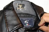 (L) new emporio black jacket -mens