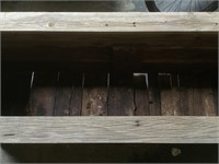 Wooden Rustic planter box, approx 20x6025 inches
