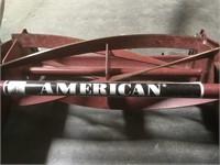 American Push Mower