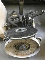 Industrial floor cleaner by Numatic